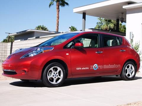 2012 Nissan LEAF SV Hatchback 4D  photo