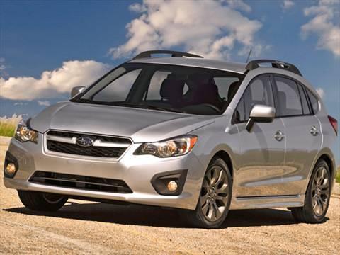 2012 Subaru Impreza 2.0i Sport Premium Wagon 4D  photo