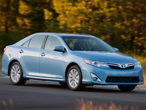 2012 Toyota Camry LE Hybrid Sedan 4D  photo