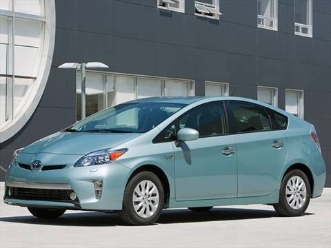 2012 Toyota Prius Plug-in Advanced Hatchback 4D  photo