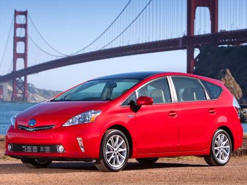 2012 Toyota Prius v Three Wagon 4D  photo
