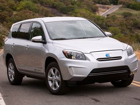 2012 Toyota RAV4 EV Sport Utility 4D  photo
