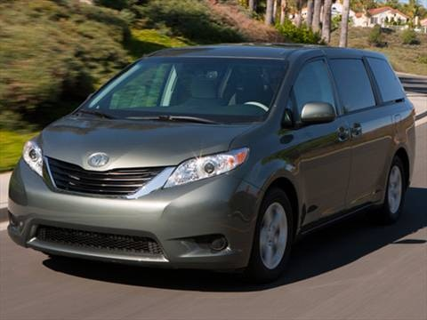 2012 Toyota Sienna Minivan 4D  photo