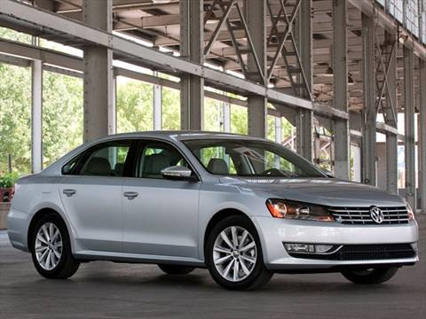 2012 Volkswagen Passat TDI SEL Premium Sedan 4D  photo