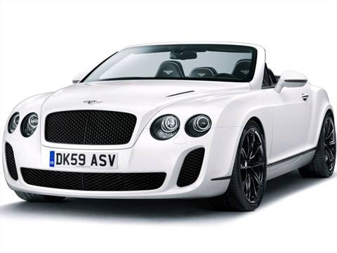 2013 Bentley Continental 2-door Supersports  Convertible photo