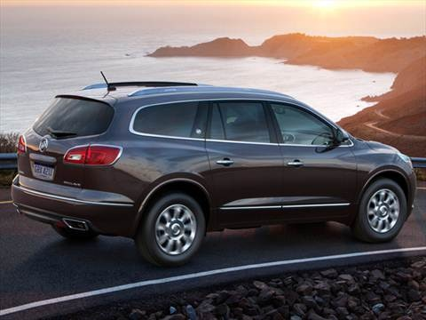 2014 Buick Enclave Premium Sport Utility 4d Pictures And