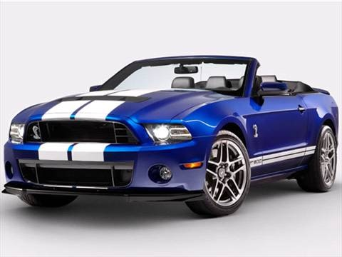 2014 Ford Mustang 2-door Shelby GT500  Convertible photo