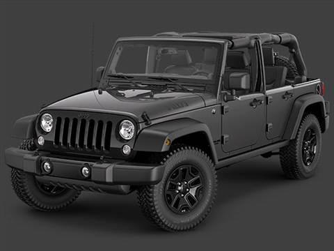 2014 Jeep Wrangler 4-door Unlimited Willys Wheeler W  Sport Utility photo