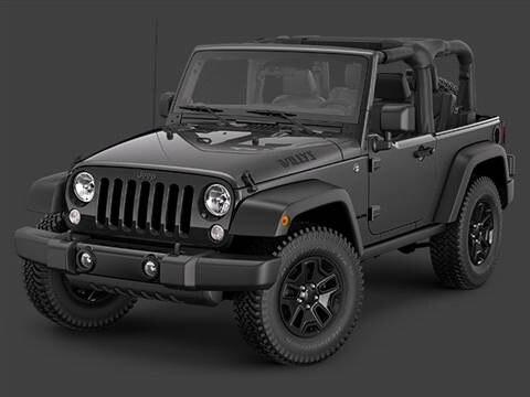 2014 Jeep Wrangler 2-door Willys Wheeler  Sport Utility photo