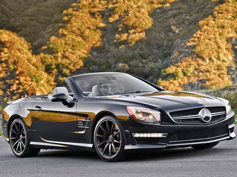 2014 Mercedes-Benz SL-Class 2-door SL65 AMG  Roadster photo