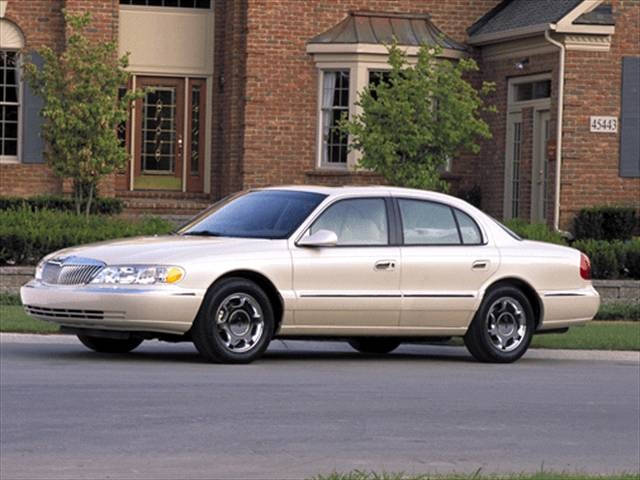 photos and videos 1996 lincoln continental sedan history. Black Bedroom Furniture Sets. Home Design Ideas