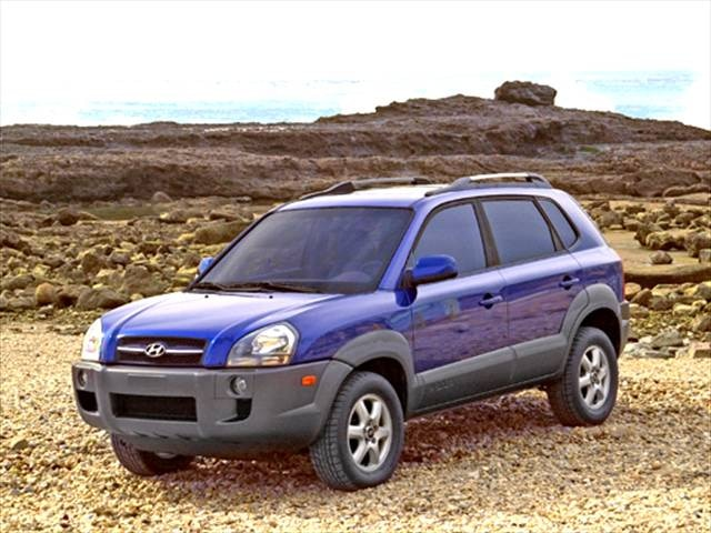Most Fuel Efficient Suvs Of 2005 Hyundai Tucson Kelley