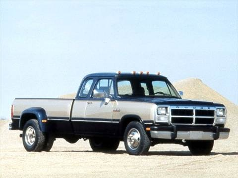 1993 Dodge D350 Club Cab Long Bed  photo