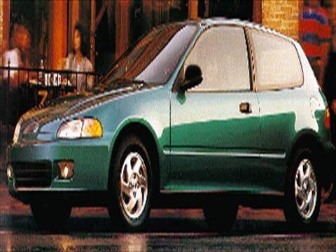 1993 Honda Civic CX Hatchback 2D  photo