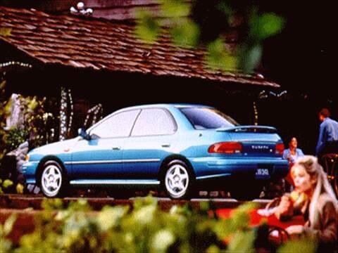 1994 Subaru Impreza Sedan 4D  photo