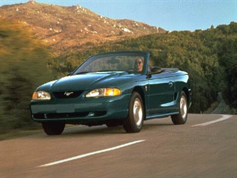 1995 Ford Mustang Convertible 2D  photo