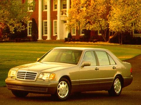 1995 Mercedes-Benz S-Class S320 SWB Sedan 4D  photo