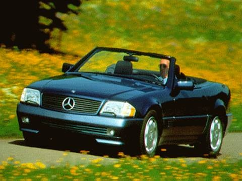 1995 Mercedes-Benz SL-Class SL320 Roadster 2D  photo