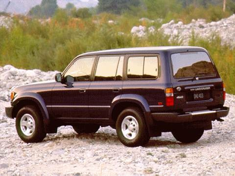 1996 Toyota Land Cruiser Sport Utility 4D  photo