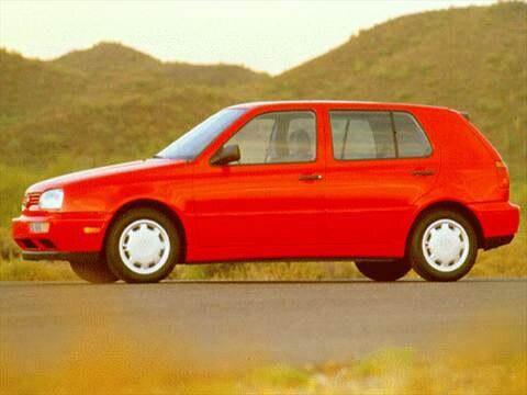 1996 Volkswagen Golf GL Hatchback 4D  photo