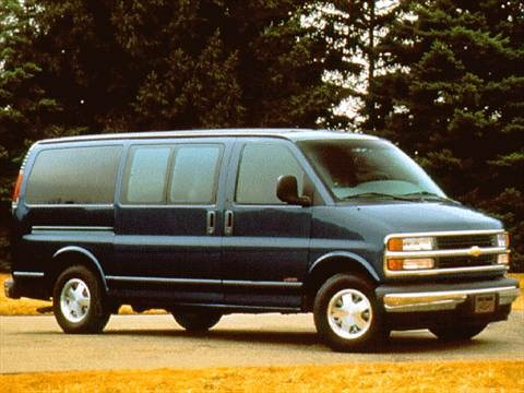1997 Chevrolet Express 3500 Passenger Van  photo