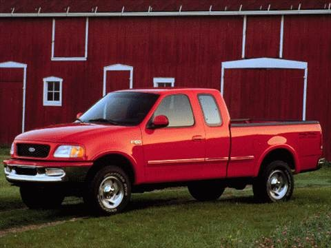 1997 Ford F150 Super Cab Short Bed  photo