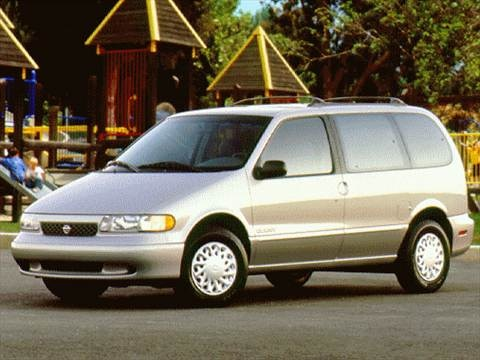 1997 Nissan Quest XE Minivan  photo