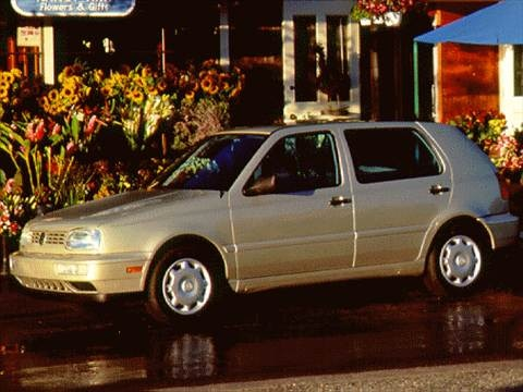 1997 Volkswagen Golf GL Hatchback 4D  photo