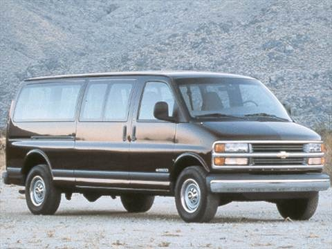 1998 Chevrolet Express 2500 Passenger Van  photo