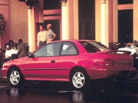 1998 Subaru Impreza L Coupe 2D  photo
