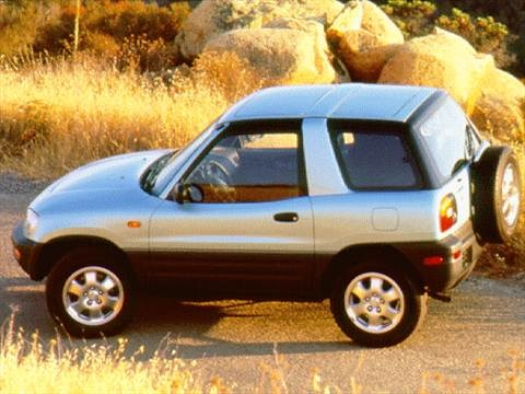 1998 Toyota RAV4 Sport Utility 2D  photo