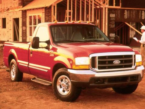 1999 Ford F250 Super Duty Regular Cab Long Bed  photo
