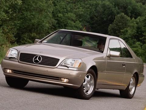 1999 Mercedes-Benz CL-Class CL500 Coupe 2D  photo