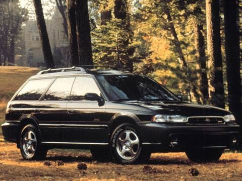 1999 Subaru Legacy Brighton Wagon 4D  photo