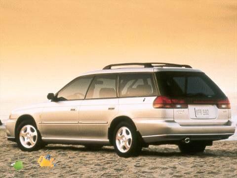 1999 Subaru Legacy Outback Limited Wagon 4D  photo