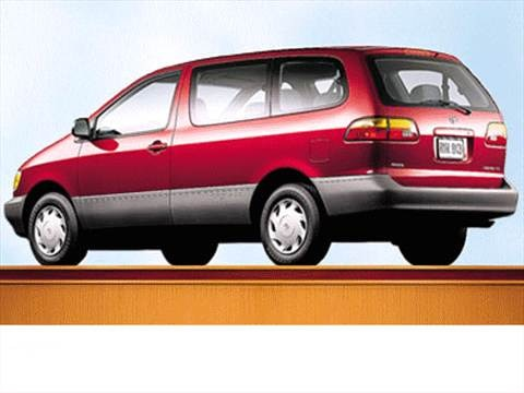 1999 Toyota Sienna CE Minivan  photo