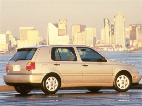 1999 Volkswagen Golf GL Hatchback 4D  photo