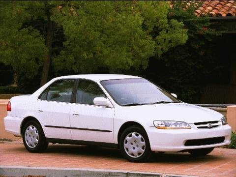 2000 Honda Accord DX Sedan 4D  photo