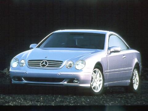 2000 Mercedes-Benz CL-Class CL500 Coupe 2D  photo