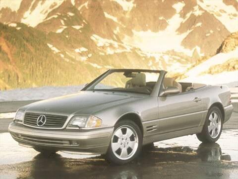 2000 Mercedes-Benz SL-Class SL500 Roadster 2D  photo