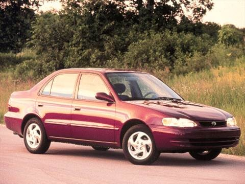 2000 Toyota Corolla VE Sedan 4D  photo
