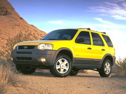 2001 Ford Escape XLS Sport Utility 4D  photo