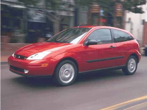 2001 Ford Focus ZX3 Hatchback 2D  photo