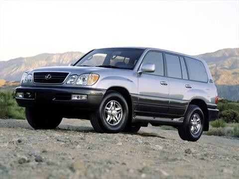 2001 Lexus LX LX 470 Sport Utility 4D  photo