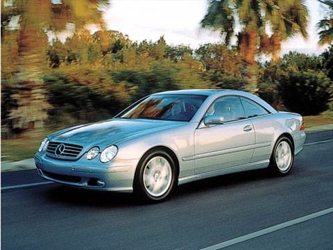 2001 Mercedes-Benz CL-Class CL500 Coupe 2D  photo