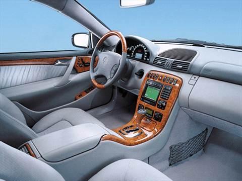 2001 Mercedes-Benz CL-Class CL500 Coupe 2D  photo