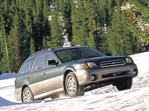 2001 Subaru Outback Wagon 4D  photo