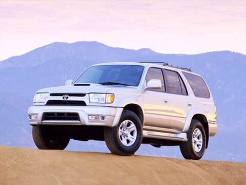 2001 Toyota 4Runner SR5 Sport Utility 4D  photo