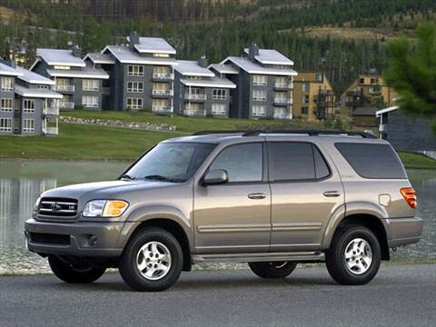 2001 Toyota Sequoia SR5 Sport Utility 4D  photo