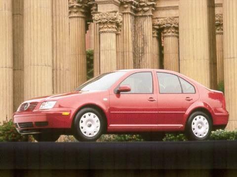 2001 Volkswagen Jetta GL Sedan 4D  photo